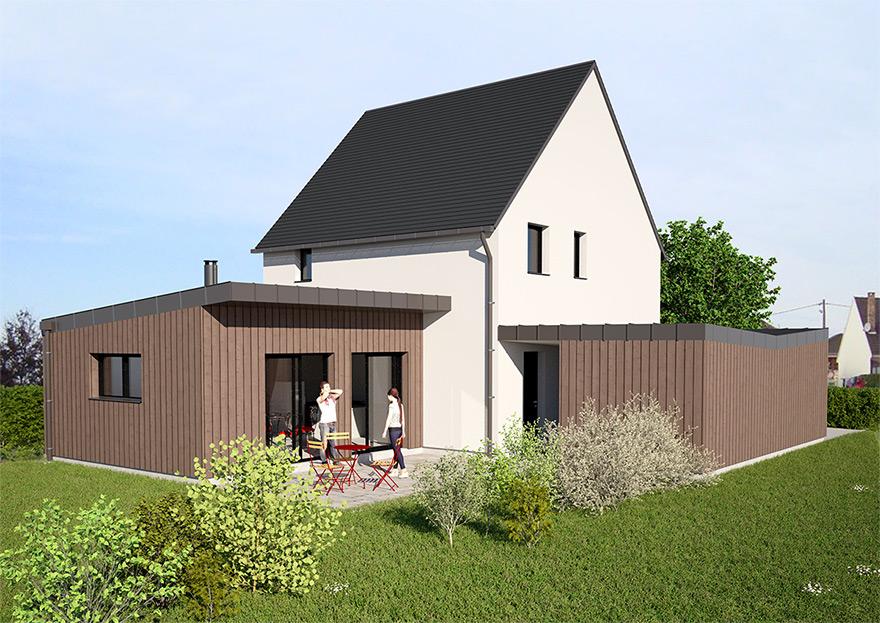 Concept WoodLoft by ISOLA  Construction bois personnalisée basse consommation